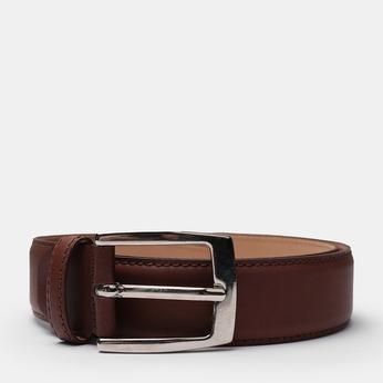 Brązowy skórzany pasek męski bata, brązowy, 954-3170 - 13