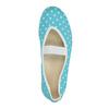Błękitne balerinki domowe wgroszki bata, niebieski, 379-9103 - 19