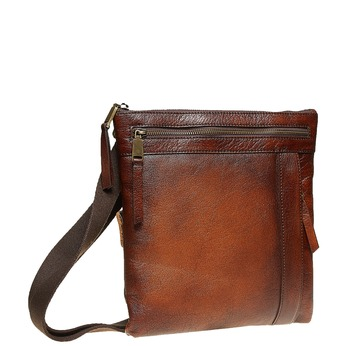 Męska skórzana torba Crossbody bata, brązowy, 964-4138 - 13