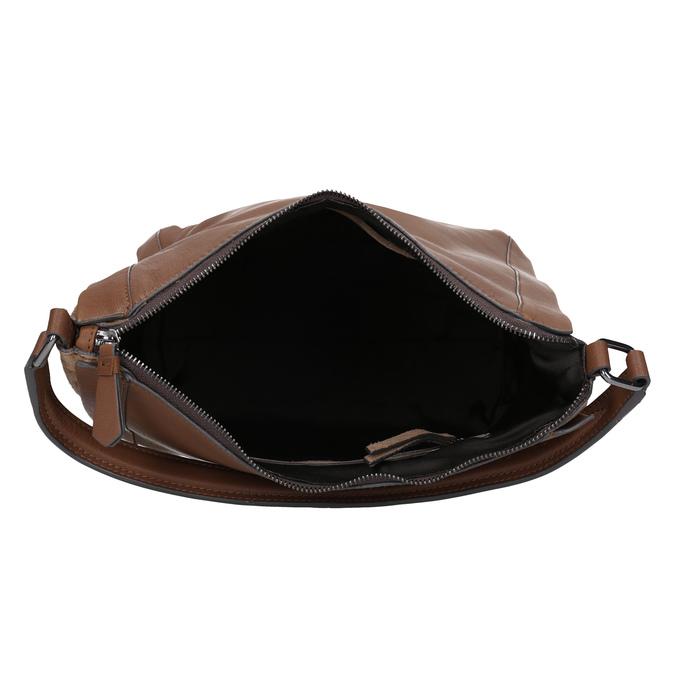 Brązowa skórzana torba bata, brązowy, 964-3254 - 15