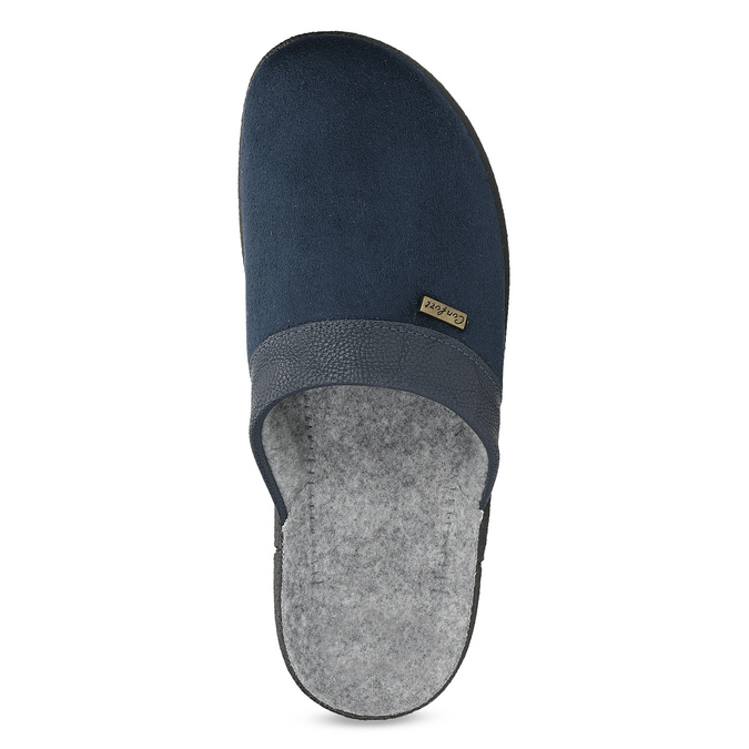 Kapcie męskie bata, niebieski, 879-9600 - 17