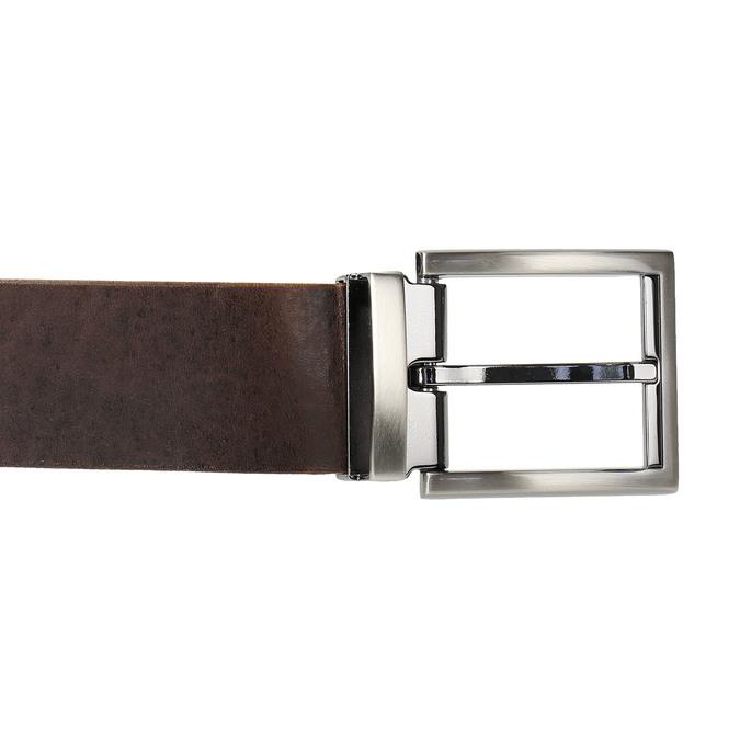 Brązowy skórzany pasek bata, brązowy, 954-4129 - 26