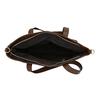 Torba damska zasymetrycznym zamkiem błyskawicznym bata, brązowy, 961-3847 - 15