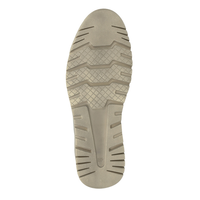 Męskie skórzane buty sportowe weinbrenner, szary, 843-2620 - 26