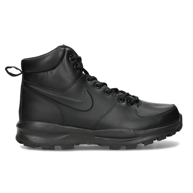 Skórzane buty męskie za kostkę nike, czarny, 806-6435 - 19