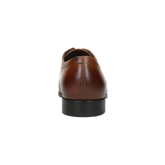 Męskie skórzane półbuty w stylu Derby bata, brązowy, 826-4736 - 17