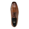 Męskie skórzane półbuty w stylu Derby bata, brązowy, 826-4736 - 19