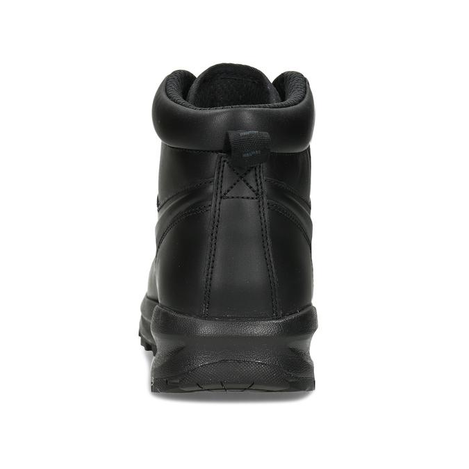 Skórzane buty męskie za kostkę nike, czarny, 806-6435 - 15