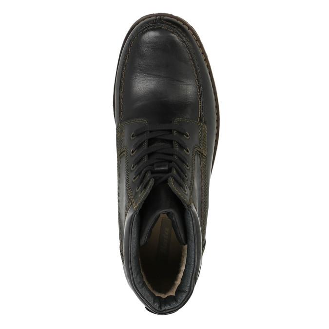 Męskie buty zimowe bata, czarny, 896-6640 - 19