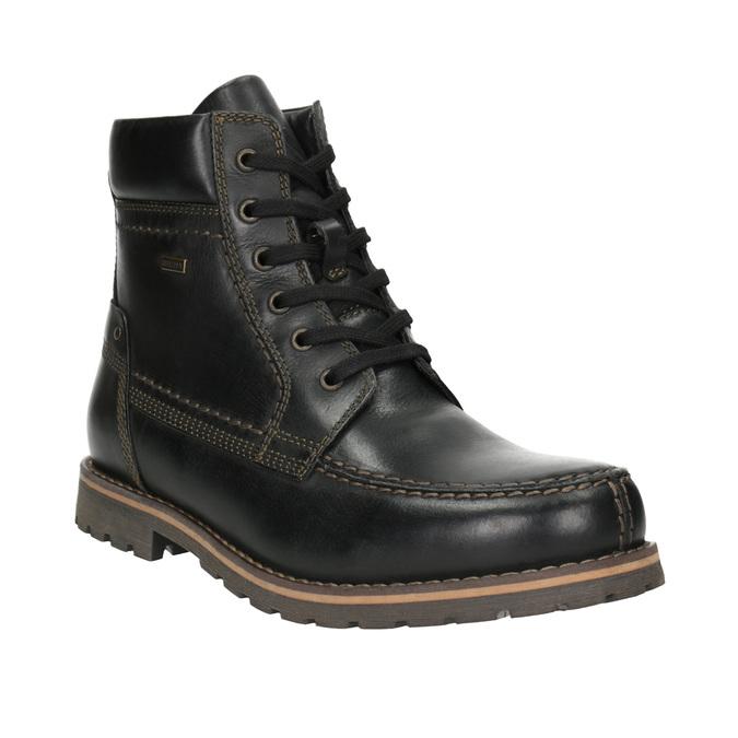Męskie buty zimowe bata, czarny, 896-6640 - 13
