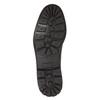 Skórzane buty zimowe bata, czarny, 894-6642 - 17