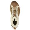 Skórzane buty sportowe do kostki z futerkiem weinbrenner, brązowy, 596-8627 - 17
