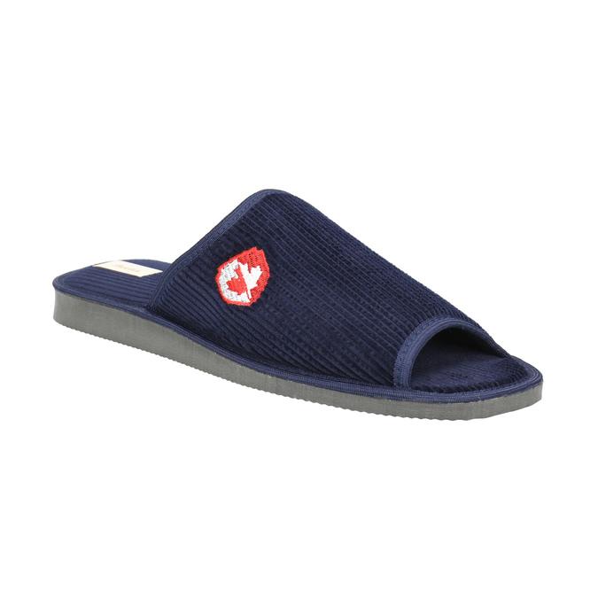 Kapcie męskie bata, niebieski, 879-9608 - 13