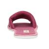 Kapcie damskie zkokardką bata, różowy, 579-5609 - 15