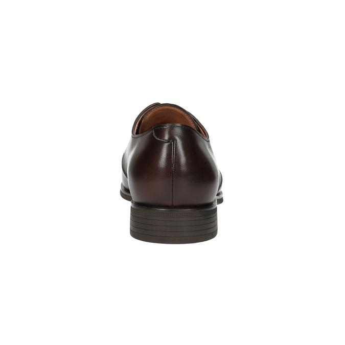 Brązowe półbuty zeskóry bata, brązowy, 824-4754 - 17