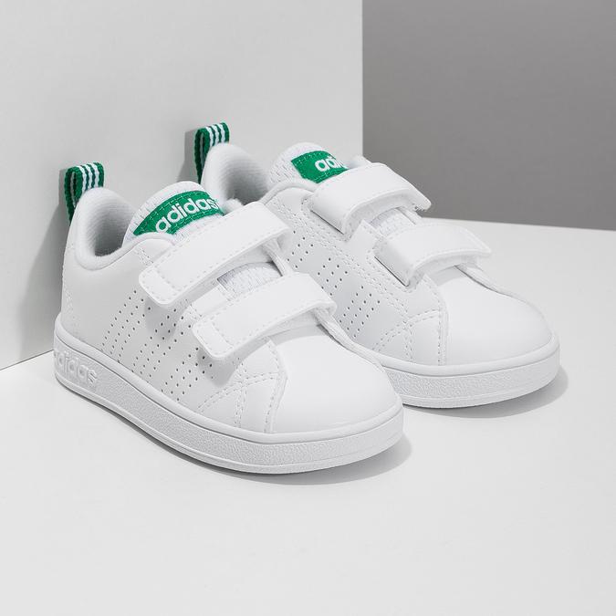 Dziecięce buty sportowe marki Adidas adidas, biały, 101-1233 - 26