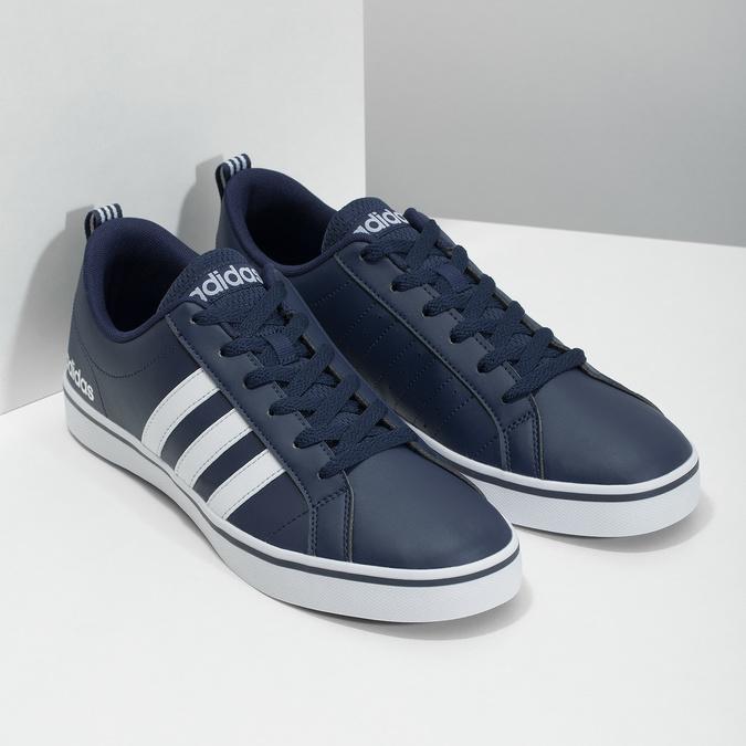 Nieformalne trampki męskie adidas, niebieski, 801-9136 - 26