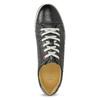 Męskie skórzane buty sportowe bata, czarny, 846-6617 - 17
