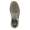 Nieformalne zamszowe półbuty męskie bata, szary, 853-2612 - 15