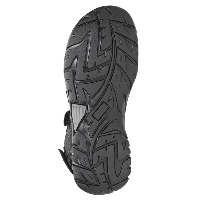 Skórzane sandały męskie weinbrenner, czarny, 866-6630 - 26