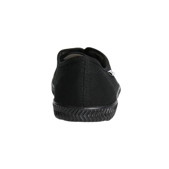 Czarne trampki damskie tomy-takkies, czarny, 589-6180 - 17