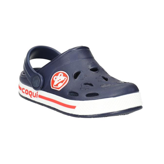 Granatowe sandały dziecięce coqui, niebieski, 272-9603 - 13