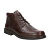 Skórzane buty za kostkę fluchos, brązowy, 824-4450 - 13