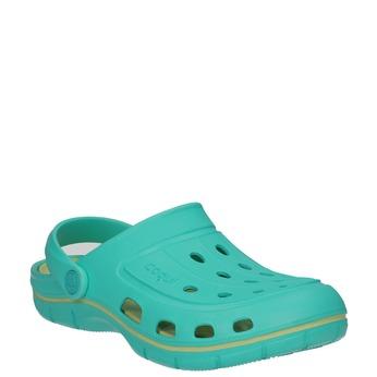 Turkusowe sandały damskie coqui, niebieski, 572-9606 - 13