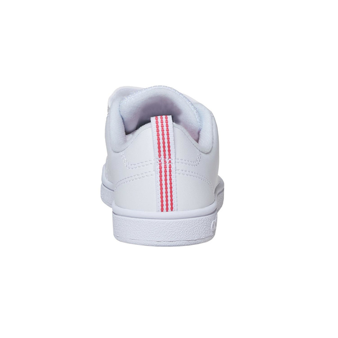 Trampki dziewczęce na rzepy adidas, biały, 301-1268 - 17