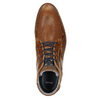 Nieformalne skórzane obuwie za kostkę bata, brązowy, 826-3912 - 26
