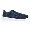 Granatowe trampki wsportowym stylu adidas, niebieski, 509-9112 - 19