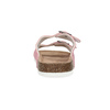 Skórzane kapcie damskie de-fonseca, różowy, 573-5621 - 15