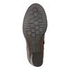 Skórzane botki bata, brązowy, 696-4626 - 19