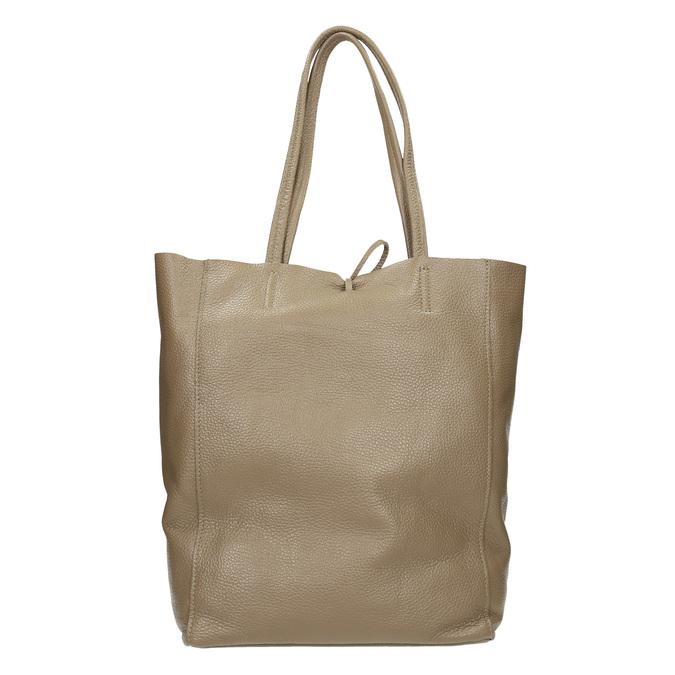 Skórzana torba damska zkokardą bata, brązowy, 964-2122 - 16