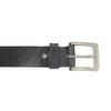 Czarny skórzany pasek bata, czarny, 954-6192 - 26