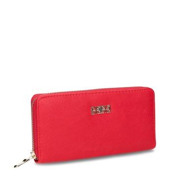 Czerwony portfel damski bata, czerwony, 941-5180 - 13