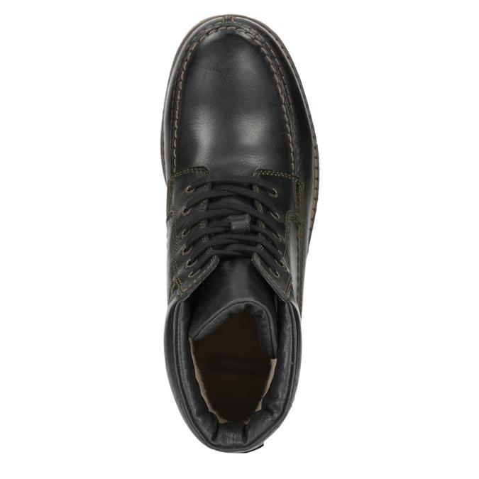 Męskie buty zimowe bata, czarny, 896-6640 - 15