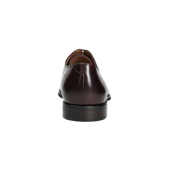 Skórzane półbuty męskie typu oksfordy bata, czerwony, 826-5683 - 17