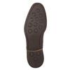 Brązowe skórzane półbuty męskie bata, brązowy, 826-4681 - 19