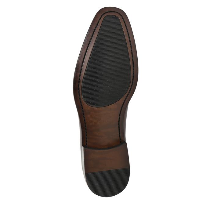 Skórzane półbuty męskie typu oksfordy bata, czerwony, 826-5683 - 19