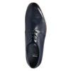 Niebieskie skórzane półbuty bata, niebieski, 826-9680 - 26