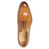Skórzane półbuty męskie zefektem ombré bata, brązowy, 824-3233 - 19