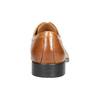 Skórzane półbuty męskie zefektem ombré bata, brązowy, 824-3233 - 17