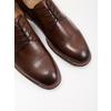 Brązowe skórzane półbuty męskie bata, brązowy, 826-4681 - 14