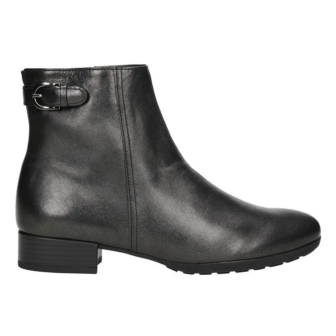 Buty ze skóry za kostkę gabor, 616-4008 - 26