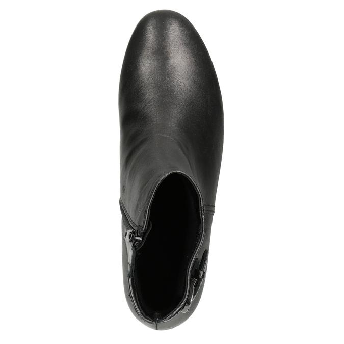 Buty ze skóry za kostkę gabor, 616-4008 - 15