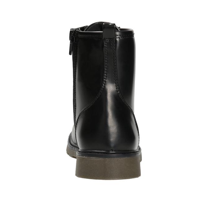 Sznurowane buty dziecięce mini-b, czarny, 391-6407 - 16