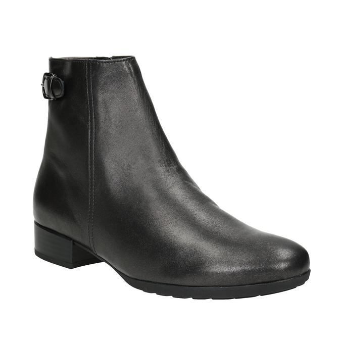 Buty ze skóry za kostkę gabor, 616-4008 - 13