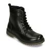 Sznurowane buty dziecięce mini-b, czarny, 391-6407 - 13