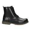 Sznurowane buty dziecięce mini-b, czarny, 391-6407 - 26